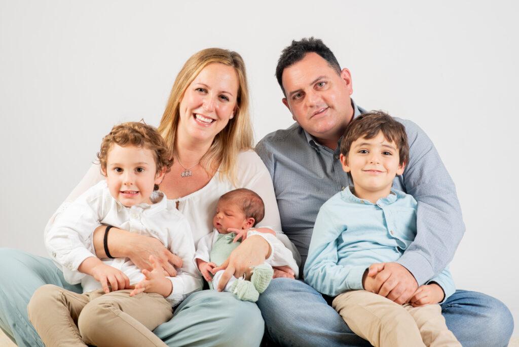 Fotografía de familia en Sevilla