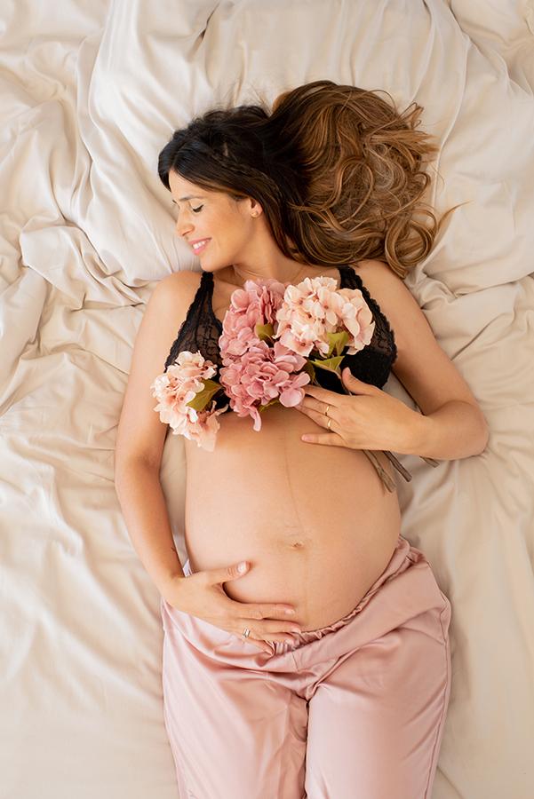 Fotografia de maternidad